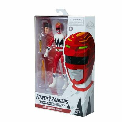 Hasbro Power Rangers Lightning Collection Lost Galaxy Red Ranger Figure