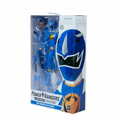 Hasbro Power Rangers Lightning Collection Dino Thunder Blue Ranger Figure