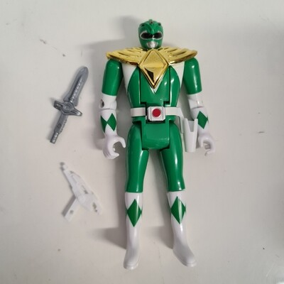 Mighty Morphin Power Ranger - Green Ranger Auto Morpher (fliphead)