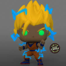 Dragon Ball Z - Goku Super Saiyan 2 chase Pop! Vinyl bundle of 6 (set of 6)