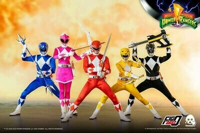 Pre-Order: Mighty Morphin Power Rangers 1:6 Scale Action Figure 6-Pack Complete Set