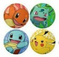Pokemon Keyring, Pin badge, Sticker