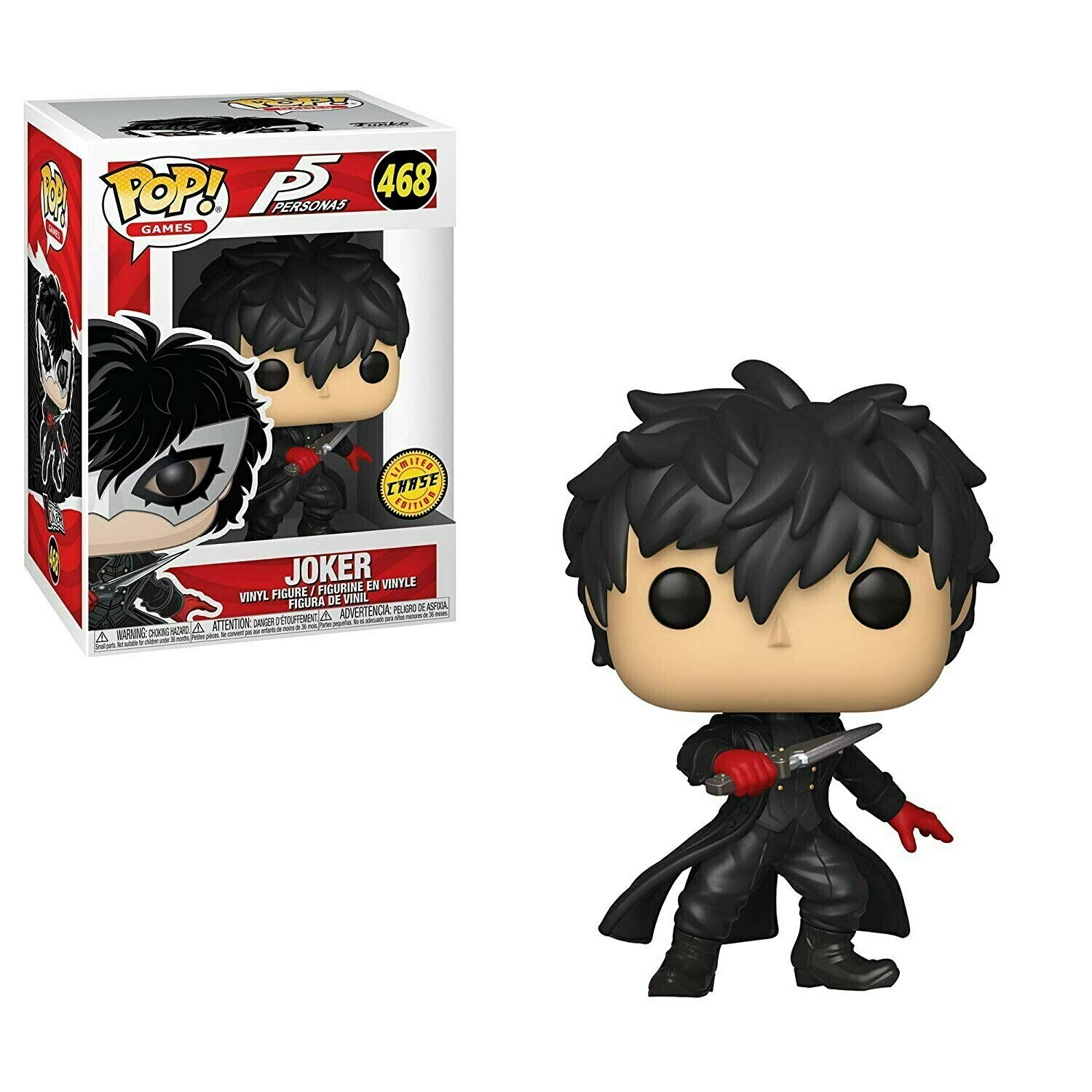 Persona 5 - Joker Chase Pop! Vinyl Figure​ Bundle of 6 (set of 6) Mystery
