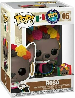 Around The World - Rosa Mexico with Pin Pop! Vinyl Figure