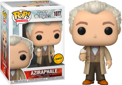Pre-Order: Good Omens - Aziraphale Chase Pop! Vinyl Figure Bundle of 6 (set of 6)