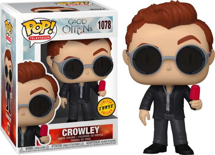 Pre-Order: Good Omens - Crowley Chase Pop! Vinyl Figure Bundle of 6 (set of 6)