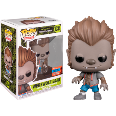 The Simpsons - Werewolf Bart Pop! Vinyl Figure (2020 Fall Convention Exclusive) NYCC