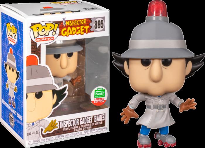 Inspector Gadget - Inspector Gadget with Skates Pop! Vinyl Figure (2020 Funko Holiday Exclusive)