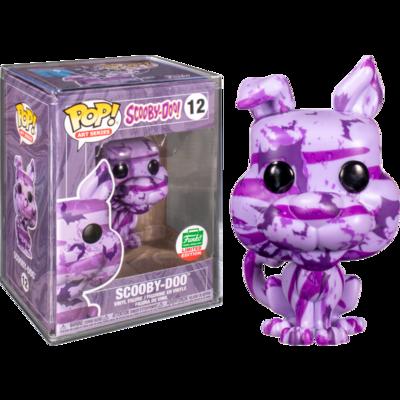 Scooby-Doo - Scooby Doo Purple Bats Artist Series Pop! Vinyl Figure with Pop! Protector (2020 Funko Holiday Exclusive)