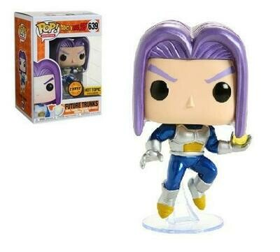 Dragon Ball Z - Future Trunks Chase hot topic US Exclusive Pop! Vinyl Figure