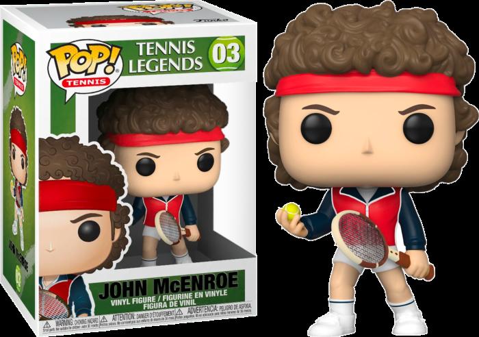 Tennis - John McEnroe Pop! Vinyl Figure
