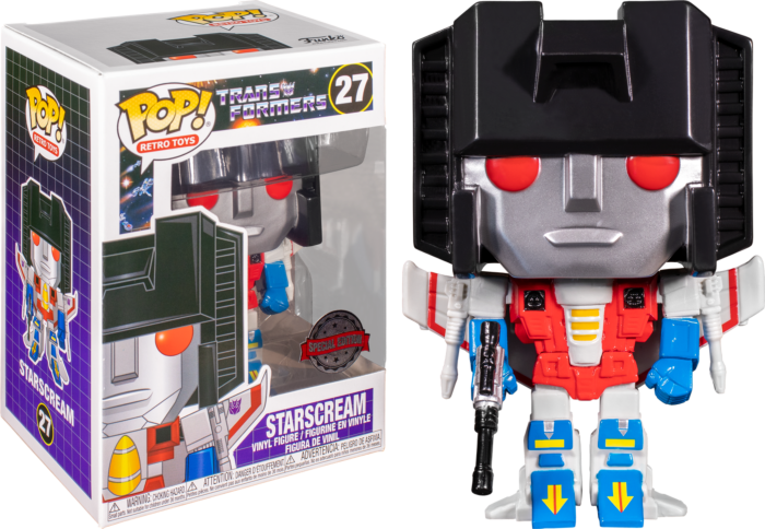 Transformers (1984) - Starscream Pop! Vinyl Figure