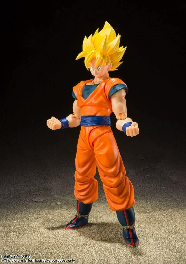 Pre-Order: S.H.FIGUARTS Dragon Ball Z Super Saiyan Full Power Son Goku