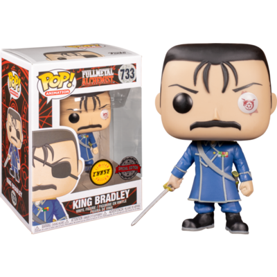 Full Metal Alchemist - King Bradley chase US Exclusive Pop! Vinyl Bundle (set of 6)