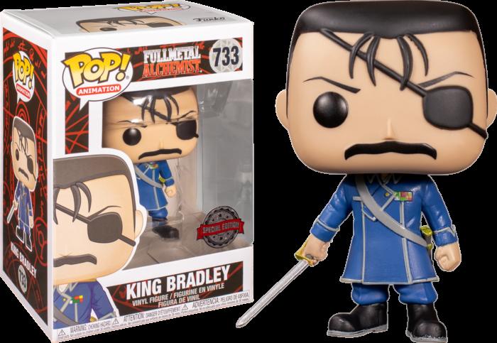 Fullmetal Alchemist - King Bradley Pop! Vinyl Figure