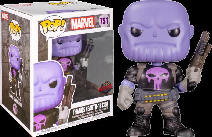 "Marvel - Punisher Thanos 6"" Super Sized Pop! Vinyl Figure"