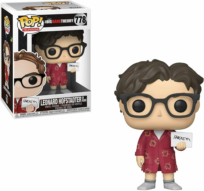 Big Bang Theory - Leonard Pop! Vinyl Figure (Box Damaged)