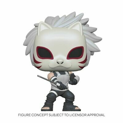Pre-Order: Naruto: Shippuden - Anbu Kakashi chase Pop! Vinyl Figure Bundle (set of 6)