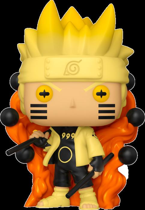 Naruto: Shippuden - Naruto Six Path Sage Mode Glow in the Dark Pop! Vinyl Figure