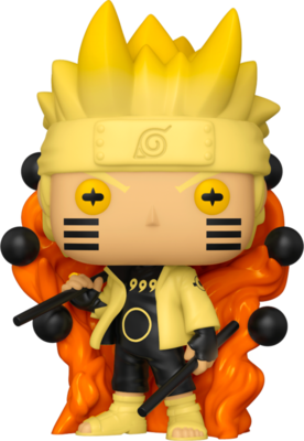 Pre-Order: Naruto: Shippuden - Naruto Six Path Sage Mode Glow in the Dark Pop! Vinyl Figure