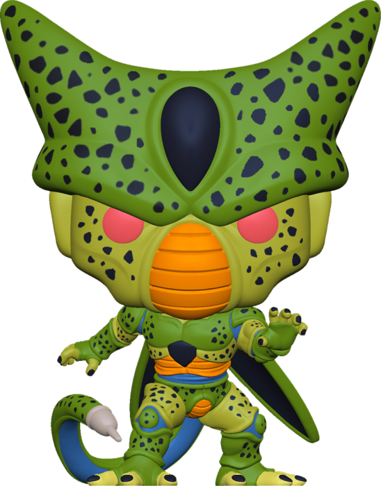 Pre-Order: Dragon Ball Z - Cell First Form Glow in the Dark Pop! Vinyl Figure