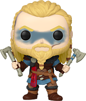 Pre-Order: Assassin's Creed Valhalla - Eivor with Two Axes Pop! Vinyl Figure