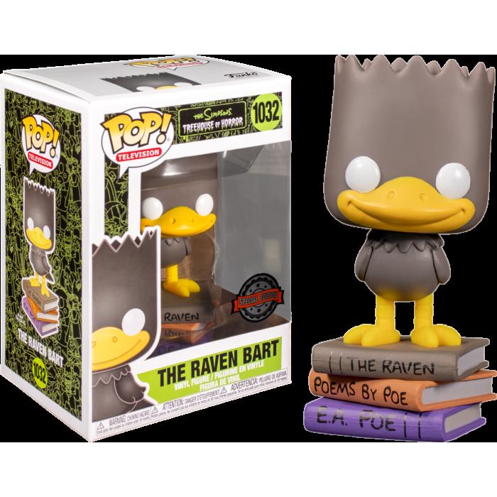 The Simpsons - Bart as The Raven Pop! Vinyl Figure