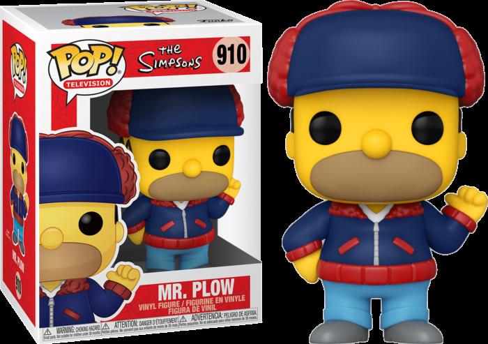 The Simpsons - Homer Mr Plow US Exclusive Pop! Vinyl Figure