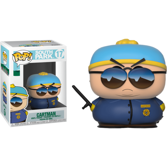 South Park - Cartman Cop Pop! Vinyl Figure