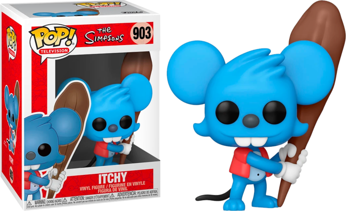 The Simpsons - Itchy Pop! Vinyl Figure
