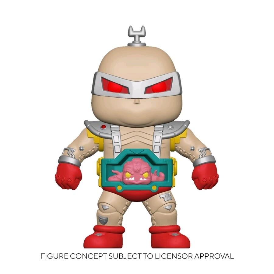 "Teenage Mutant Ninja Turtles (1987) - Krang with Android Body 6"" Super Sized Pop! Vinyl Figure"