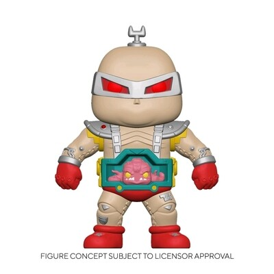 "Pre-Order: Teenage Mutant Ninja Turtles (1987) - Krang with Android Body 6"" Super Sized Pop! Vinyl Figure"