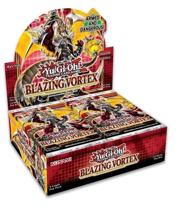 YuGiOh Blazing Vortex Booster Box W/ 24 Boosters
