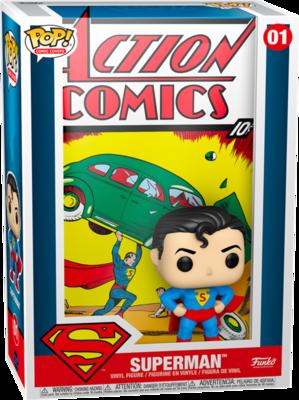Pre-Order: Superman - Superman Action Comic Pop! Comic Covers Vinyl Figure