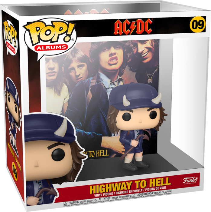 Pre-Order: AC/DC - Highway to Hell Pop! Albums Vinyl Figure