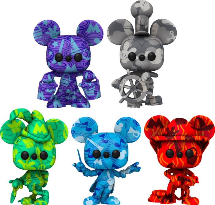 Mickey Mouse - Artist Series Pop! Vinyl Figure with Pop! Protector