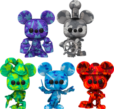 Pre-Order: Mickey Mouse - Artist Series Pop! Vinyl Figure with Pop! Protector