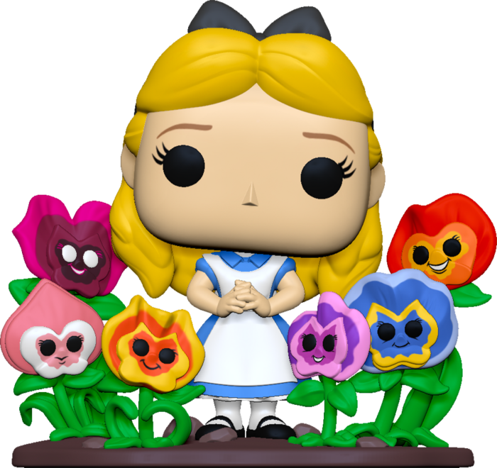 Pre-Order: ​Alice in Wonderland - Alice with Flowers 70th Anniversary Deluxe Pop! Vinyl Figure