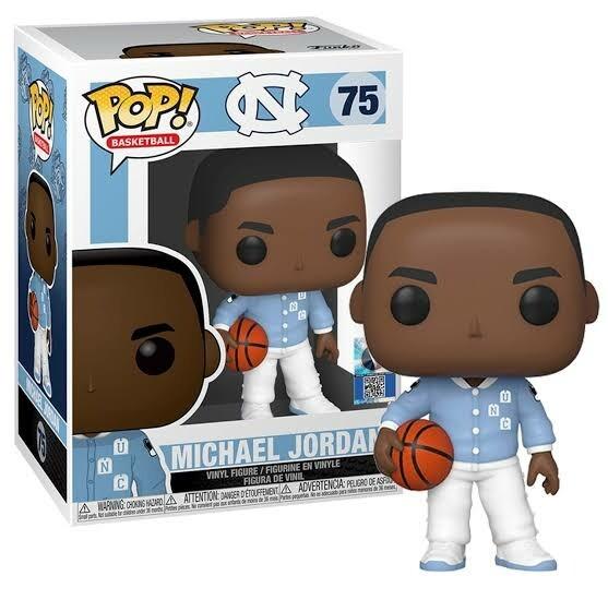 Basketball: UNC - Michael Jordan (Warm ups) Pop! Vinyl