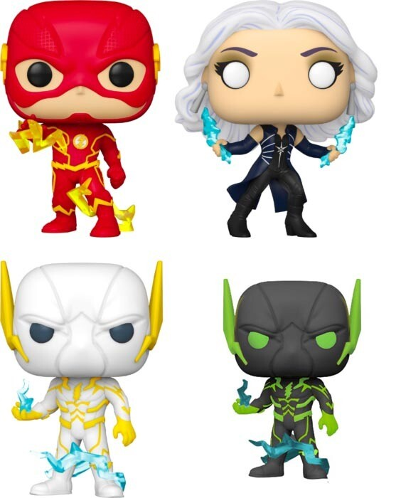 The Flash (2014) - For The Love of Godspeed Pop! Vinyl Figure