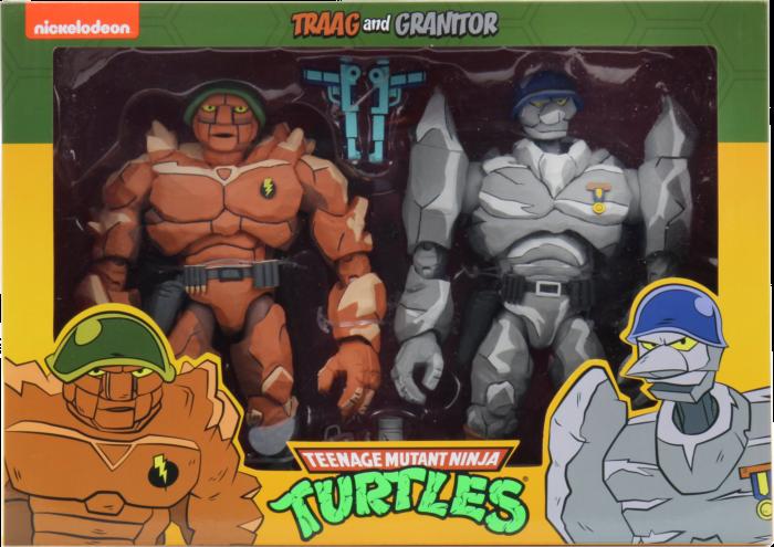 "Teenage Mutant Ninja Turtles (1987) - Traag & Granitor Cartoon Collection 7"" Scale Action Figure 2-Pack"