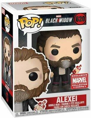 Marvel Collector Corps Exclusive Black Widow: Alexei Pop! Vinyl Figure
