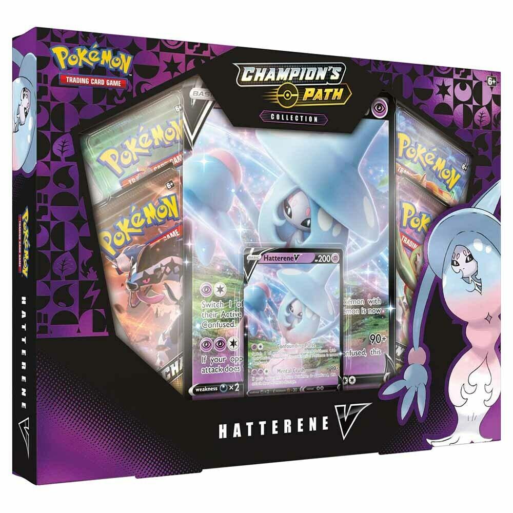 Pokemon - TCG - Champion's Path Collection - Hatterene V