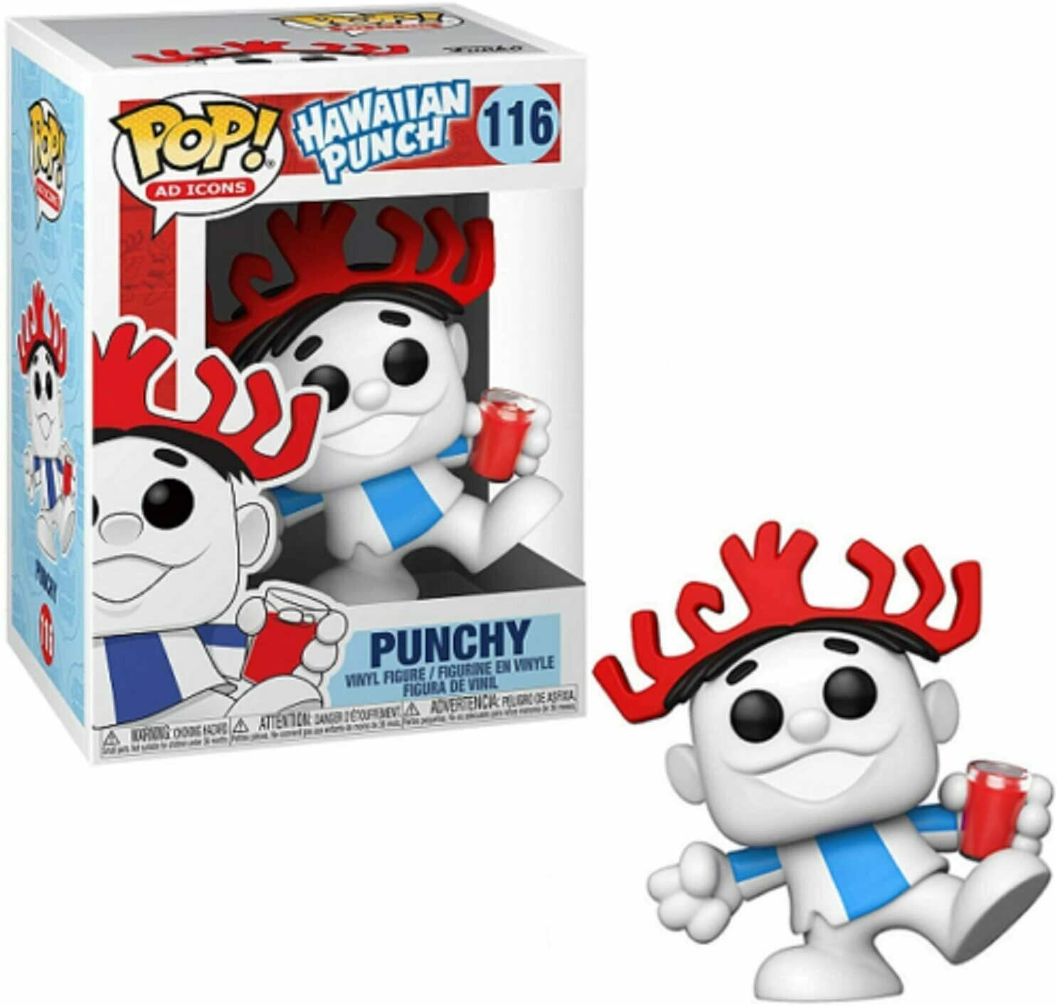 Funko Ad Icon- Hawaiian Punch- Punchy Pop! Vinyl Figure