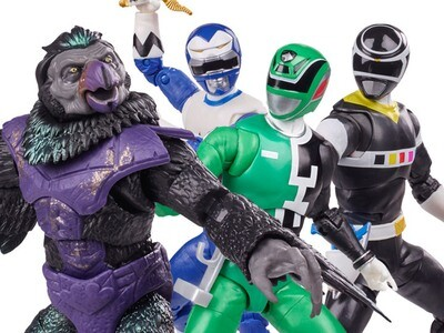 Pre-Order: Hasbro Power Rangers Lightning Collection Wave 9 Figures