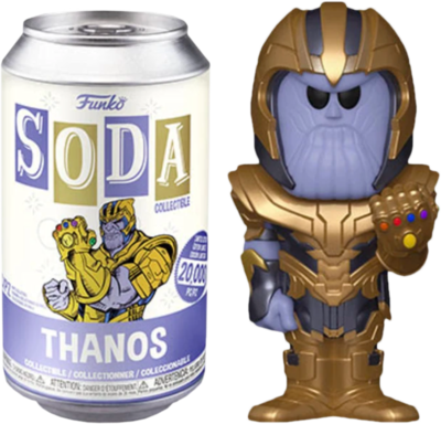 The Avengers - Thanos Vinyl SODA Figure in Collector Can