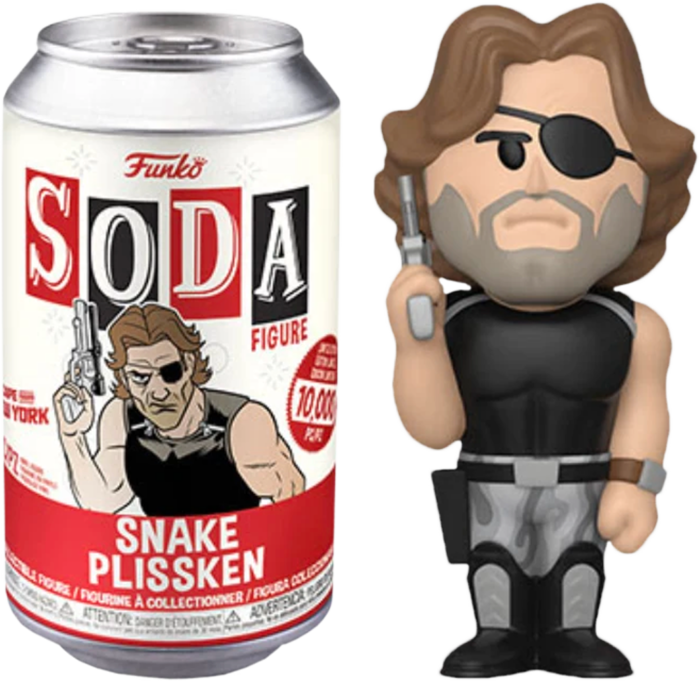 ​Escape from New York - Snake Plissken Vinyl SODA Figure in Collector Can