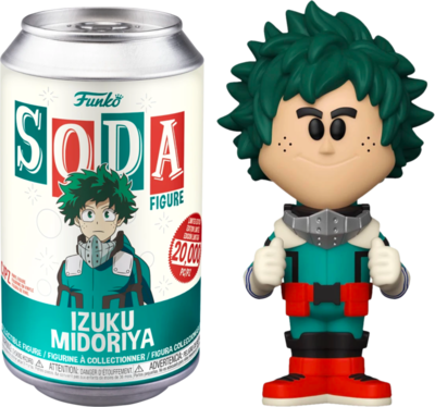 My Hero Academia - Deku Vinyl SODA Figure in Collector Can