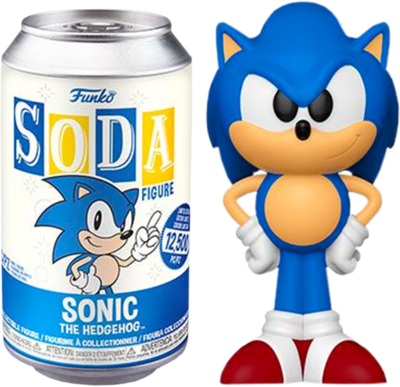 ​Sonic The Hedgehog - Sonic The Hedgehog Vinyl SODA Figure in Collector Can