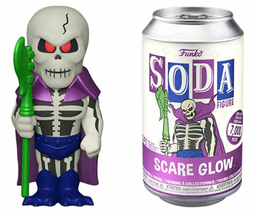 Masters of the Universe - Scare Glow Vinyl Soda Figure